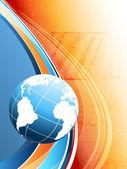 Bright technologies vector. eps10 — Stock Vector