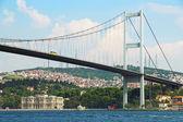 Bosphorus bridge in Istanbul, Turkey — Stock Photo