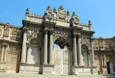 Dolmabahce Palace in Istanbul — Stock Photo