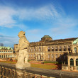 Zwinger Palace in Dresden, Germany — Stock Photo
