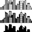 Stock Vector: City skyline