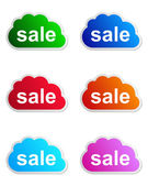 Sale label — Stock Vector