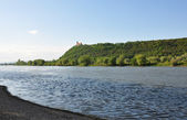 Danube with Bogenberg, Bavaria — Stock Photo