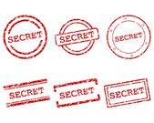 Secret stamps — Stock Vector