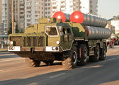 Anti-aircraft missile system of medium-range S-300 — Stock Photo