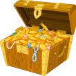 Treasure chest — Wektor stockowy #11097776