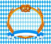 Oktoberfest background — Stock Vector