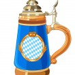 Oktoberfest Mug - Stock Vector