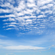 Cirrus clouds. — Stock Photo