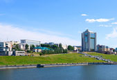 City Cheboksary, Chuvash Republic, Russian Federation. — Stock Photo