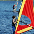 Young boy on windsurfing — Stock Photo #11922020