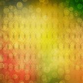 многоцветный фон для приветствия или приглашения с размытие бо — Стоковое фото