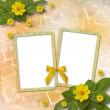 Abstract background with bunch of flower for announcement or adv — Stock Photo #11130359