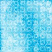 Light blue watercolor brush strokes for grunge background — Stock Photo