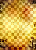Abstract chess background for design with grunge papers — Stock Photo