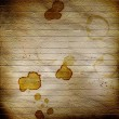 Stock Photo: Concept abstract background with dirty coffee stains