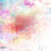 Grunge abstrakt bakgrund med gamla trasiga affischer med oskärpa boke — Stockfoto