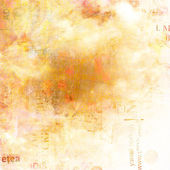 Grunge abstract background with old torn posters with blur text — Stock Photo