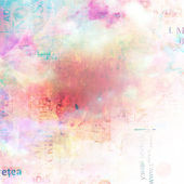 Grunge abstract background with old torn posters with blur boke — 图库照片