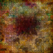 Grunge abstract background with old torn posters with blur text — Photo