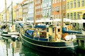 Nyhavn in Copenhagen — Stock Photo