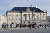 Royal Danish guard — Stock Photo