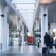 Copenhagen airport - Stock Photo