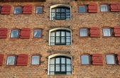 Brick fasade — Stock Photo