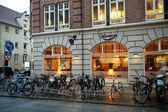 In the evening in Copenhagen — Stock Photo