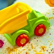 Stock Photo: Colour toy car