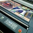 Stock Photo: Printing plotter