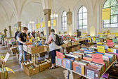 Fair of old books — Stock Photo