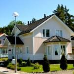Scandinavian private house — Stock Photo #11687330