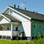 Scandinavian private house — Stock Photo #11687340