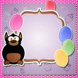 Birthday greeting card — Image vectorielle