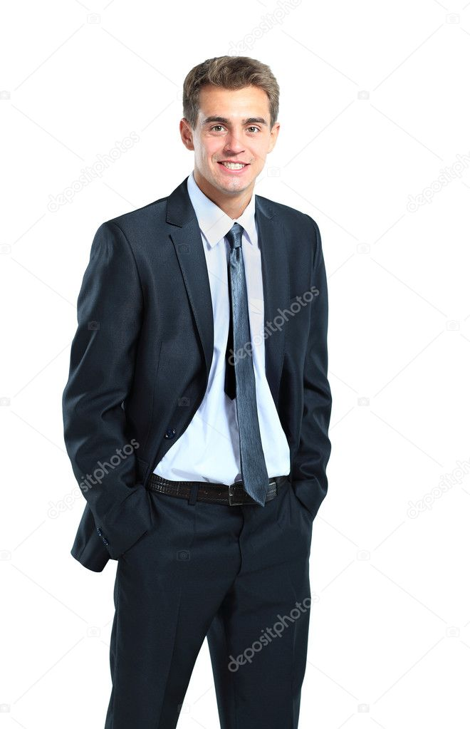 Smiling business man — Stock Photo #11041147