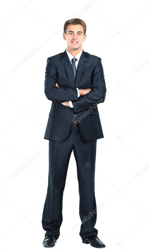 Smiling business man  Stock Photo #11041189