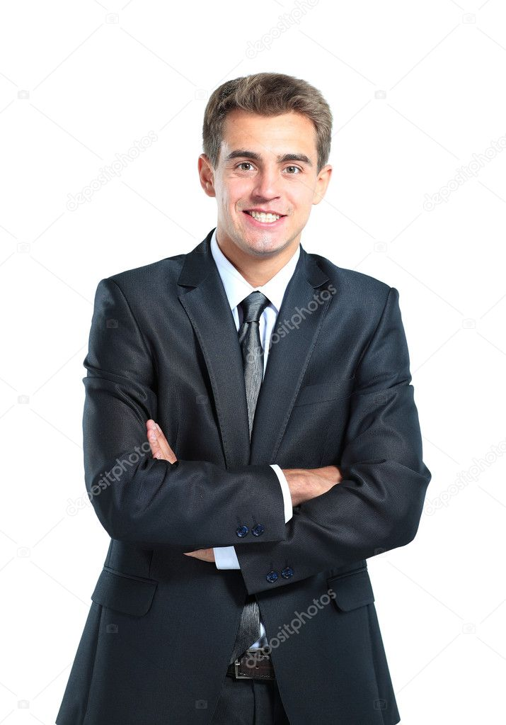 Smiling business man — Stock Photo #11041272