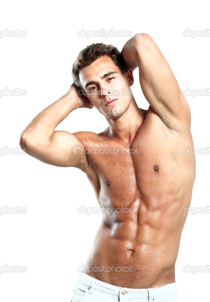 Boy Pose Young Male Model