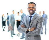 Portrait of an african american businessman — Stock Photo