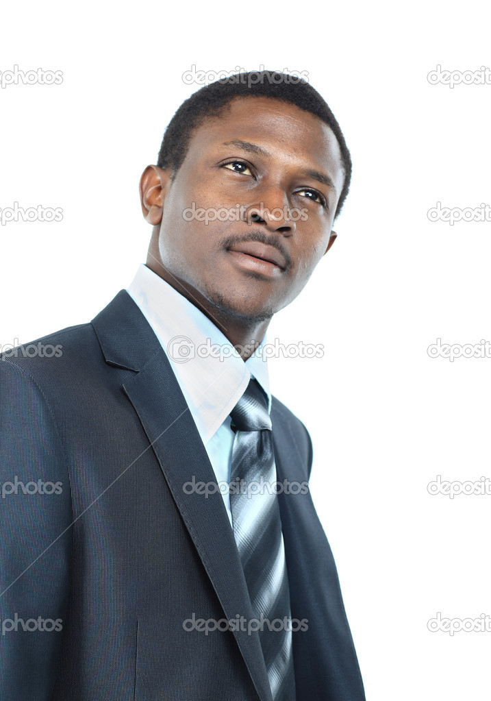 Portrait of African American businessman  Stock Photo #11780630