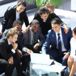 Happy working business team in modern office — Stock Photo #11832098