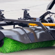 Street Sweeper Broom - Stock Photo
