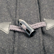 Horn Toggle Fastener with Rope Loop — Stok Fotoğraf #11145144