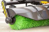 Street Sweeper Broom — Stock Photo