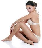 Güzel model giyen bikini — Stok fotoğraf