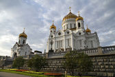 Kristus frälsarens katedral, moskva, ryssland. — Stockfoto