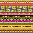 Latin American pattern - Stock Vector
