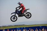 Josh Grindrod, freestyle motocross rider — Stock Photo
