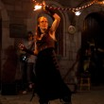 Fire juggler — Stock Photo #11805936